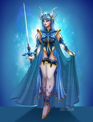 Umi Redesign- Magic Knight Rayearth by Flying-Fox