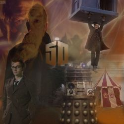 Day of the Doctor collab by dark-chocobo
