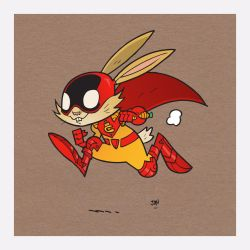 Captain Carrot by CalamityJon