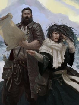 The Navigator and the Seer - Forsaken Forest by Grobelski