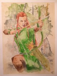 Tauriel by WILLEYWORKS