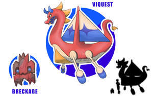 Breckage and Viquest by Faketops