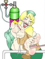 Nurse Tickle and Laughing Gas by LaughingGasZone