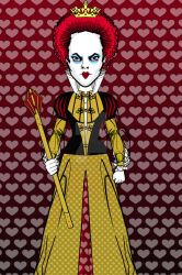 Heromachine: The Red Queen by ARTIST-SRF