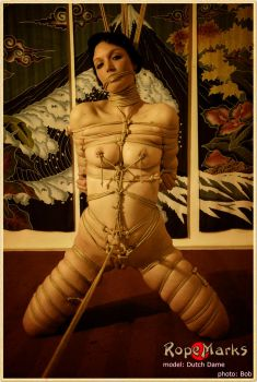 On Her Knees 4 by ropemarks
