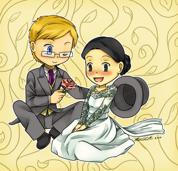 Gift - Newly Weds by HomunculusLover