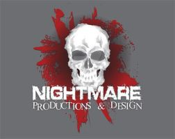 Nightmare Productions  Design Logo by hintofsilence