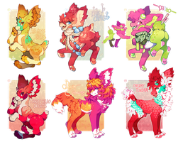 [Collab Auction] :: Sweet Summer Mix (closed) by PhloxeButt