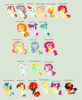 Adopts: Sunset x Everybody (CLOSED) by PurfectPrincessGirl