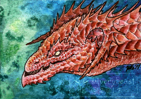 Sharp | ACEO by silverybeast
