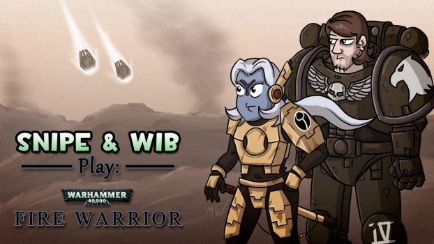 Fire Warrior Title Card by wibblethefish