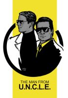 The Man From U.N.C.L.E by Pulvis