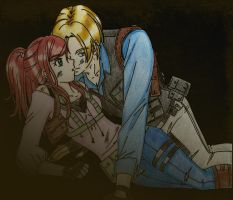 Leon and Claire Proteccion by LeonandClaireBSAA