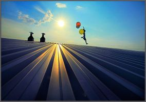 On the roofs by artwom77