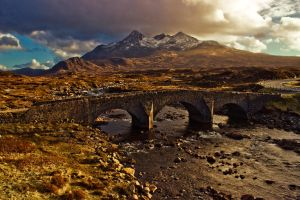 The Old Bridge by Measels