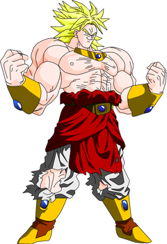 LSS Broly by Yholl