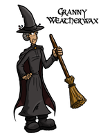 Granny Weatherwax by Iddstar