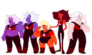 The Earth Quartzes by Gaartes