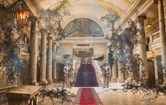 Throne Room | Contact Me by BrendanWrighting