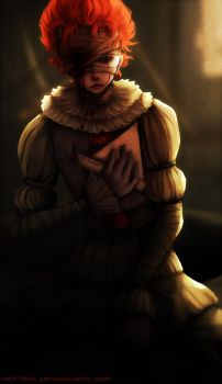 You can cut me down... (Pennywise Fanart) by Neytirix
