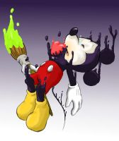 Epic Mickey by hat-M84