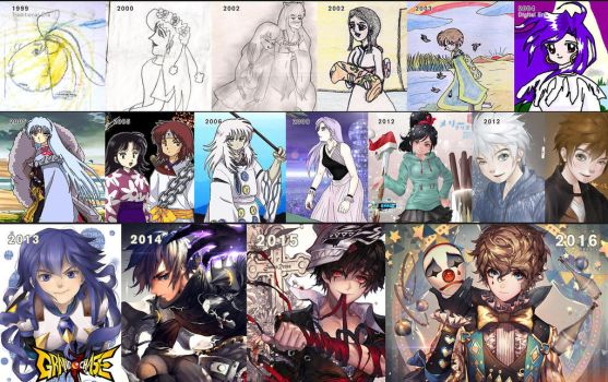 1999 - 2016 improvement by kawacy