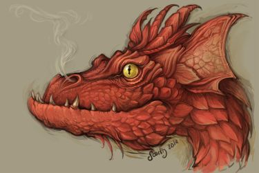 Smaug sketch by Sceith-A