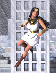 Mighty Isis - Stormy Weather Smile by OrionPax09