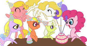 Party Ponies by Otterlore