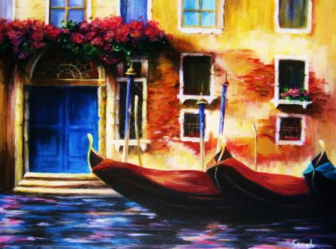 Venice Painting by dewsparkles