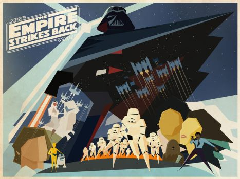 The Empire Strikes Back by Cranimation