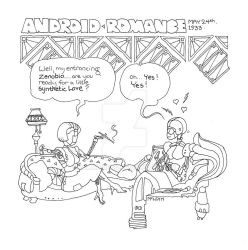 Android Romance by WillMcLean