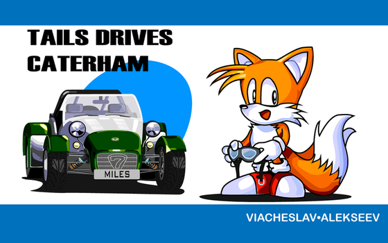 Tails drives Caterham by F1Cheese