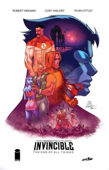 Invincible the end of all things final by JoeyVazquez