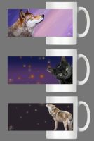 Mugs with panoramic picture by Nojjesz