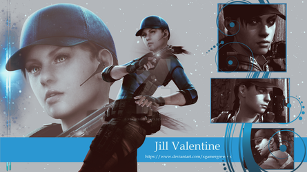 Jill Valentine Wallpaper 1 by xGamergreaserx