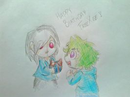 HAPPY BIRTHDAY FREEXEE! by Heise-kun