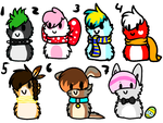 scarfblobs adopts by jenny96ist-adopts