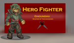 Hero Fighter- Ghoundhu by RalphGressine