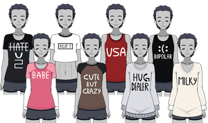 .:|| Designed Shirts ||:. [EXPORTS] by PandaInklet