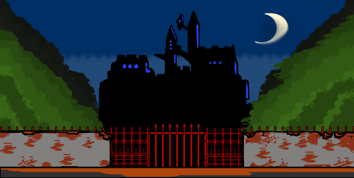 Walfas: Castlevania Background pack (Unfinished) by Midian-P
