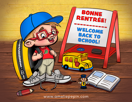Welcome back to school! by TheTruthLiesWithin