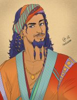 Daario Naharis by Autumn-Sacura