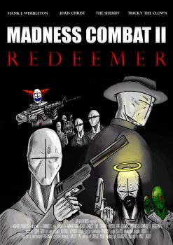 MADNESS COMBAT 2 MOVIE POSTER by FedericoVeyretou