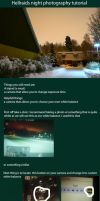 Night Photography Tutorial by Hellraidgr