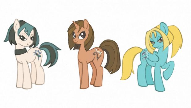 Total drama in My little pony style by Kikaigaku