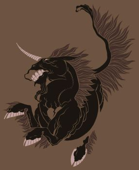 Black Unicorn by team8press