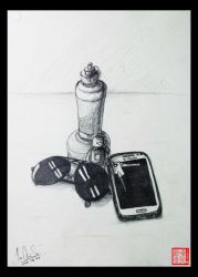 5 Objects drawing by XLordAndyX