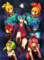 vocaloid : punk night by p-ivetto