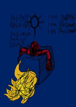 Burning the the treacherous pig from family court2 by ForgottenDemigod